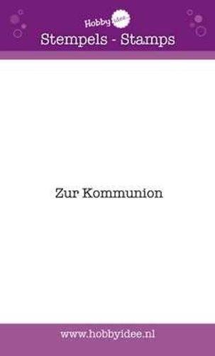 Zur Kommunion - Stempel - Clearstamp