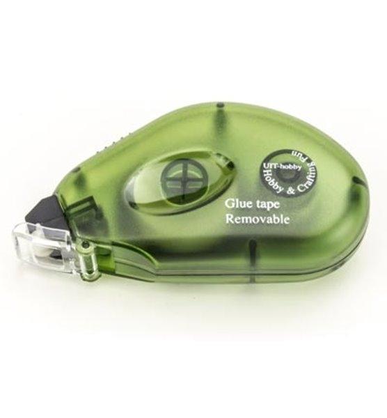 Non-Permanent Glue-Tape Dispenser / Klebe-Roller / doppelseitiges Klebeband