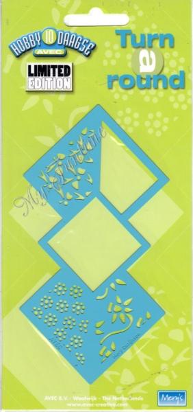 Turn a Round - Prägeschablone / Embossing-Folder