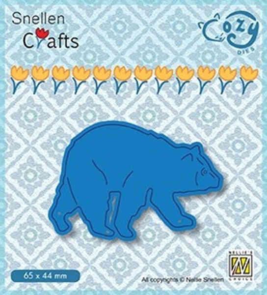 Bear / Bär - Cozy Dies Collection von Nellie´s Choice (SCCOD012)