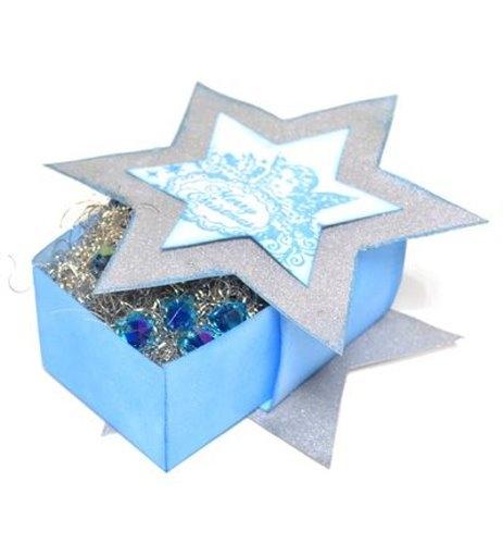 Verpackungs-Schablone - Sternenbox