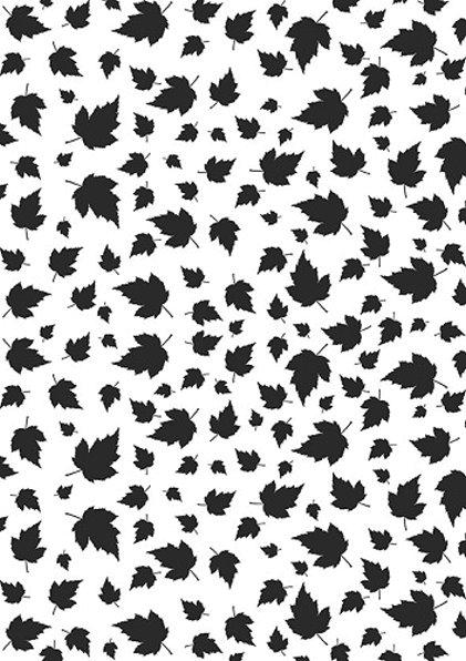 Blätter - DIN A4 - Prägeschablone / Embossing Folder