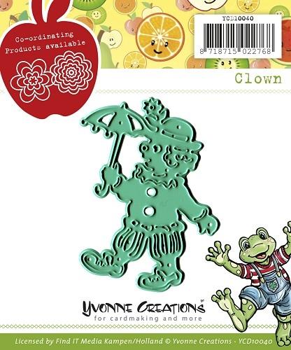 Clown - Stanzschablone