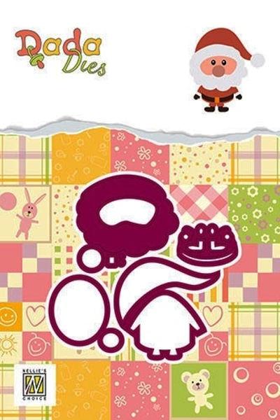 Santa Claus / Weihnachtsmann - DADA Dies Christmas von Nellie´s Choice (DDD016)