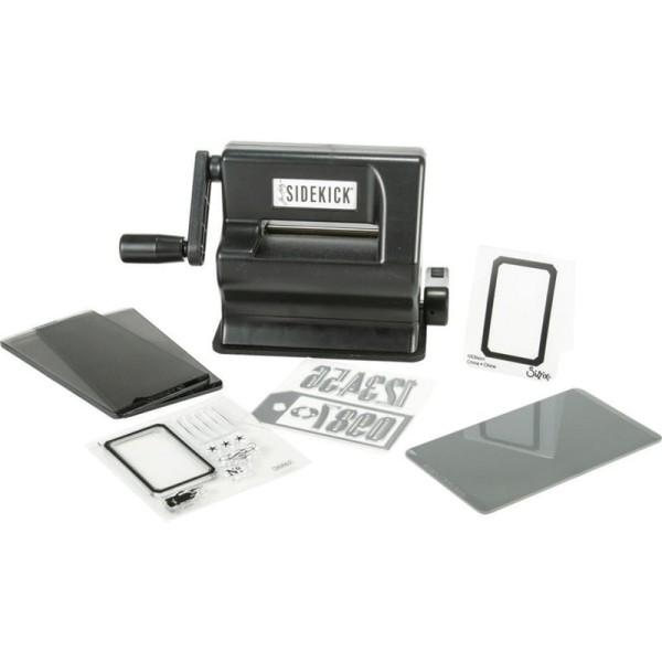 Sidekick starter kit - black by Tim Holtz Stanz- & Prägemaschine von Sizzix