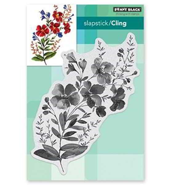Blossom Branch / Blütenzweig - Stempel / Clearstamp