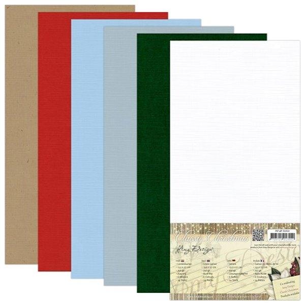 Classic Christmas - Leinenpapier-Set - Amy Design