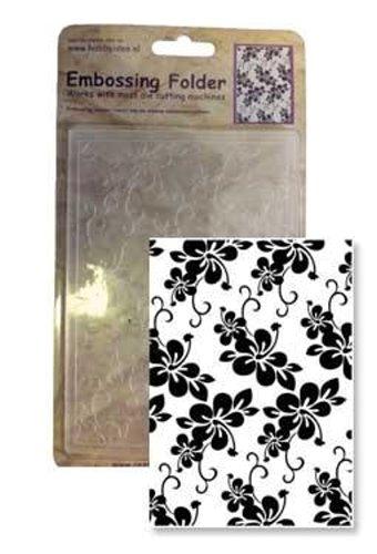 Blumen / Blüten - IV - Prägeschablone / Embossing Folder