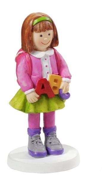 CREApop® - Schulmädchen mit ABC