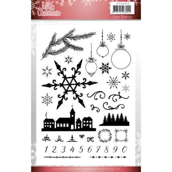 Lovely Christmas - Clearstamp / Stempel