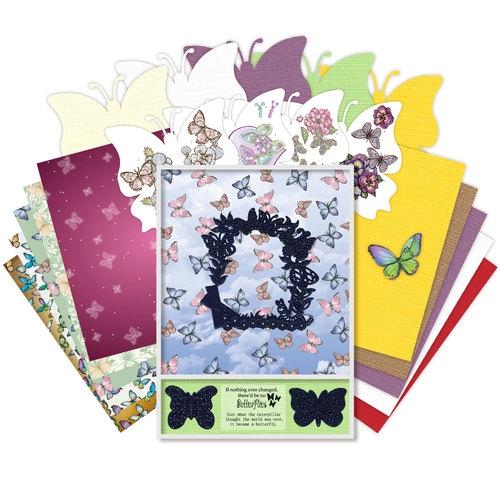 Geschenkbox - Schmetterlinge