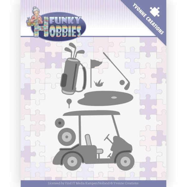 Golf - Funky Hobbies - Stanzschablone