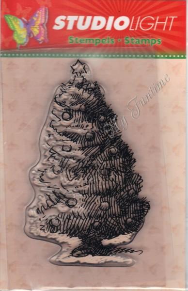 Weihnachtsbaum Stempel / Clearstamp
