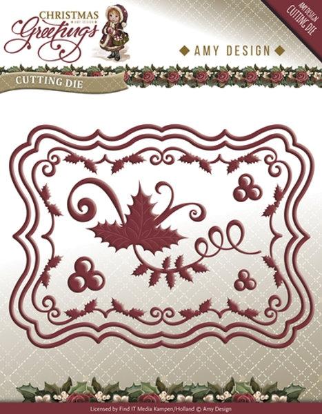 Weihnachtsset - Stanzschablone