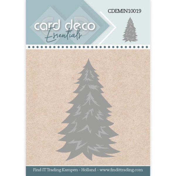 Christmas Tree / Weihnachtsbaum - Mini Dies von Card Deco (CDEMIN10019)