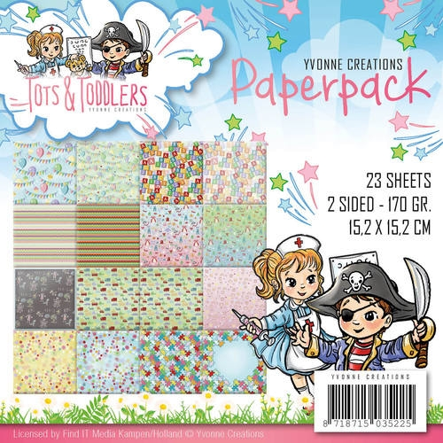 Tots and Toddlers - Motivpapierset