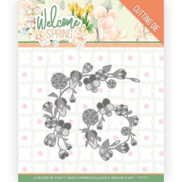 Spring Garland - Welcome Spring Collection von Jeanine´s Art (JAD10115)