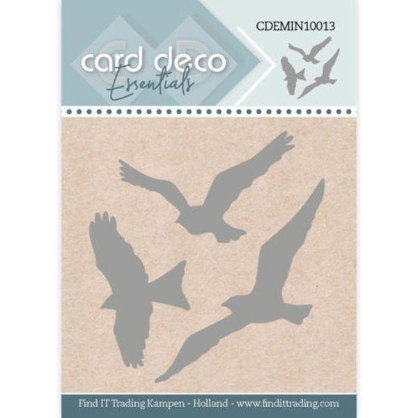Birds / Vögel - Mini Dies von Card Deco (CDEMIN10013)