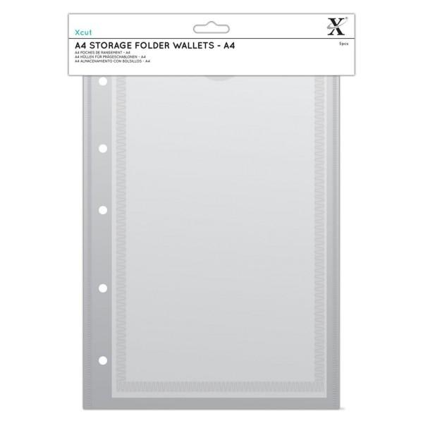 Stempelhüllen DIN A4 (5 Stück) von X-CUT (XCU 245105)