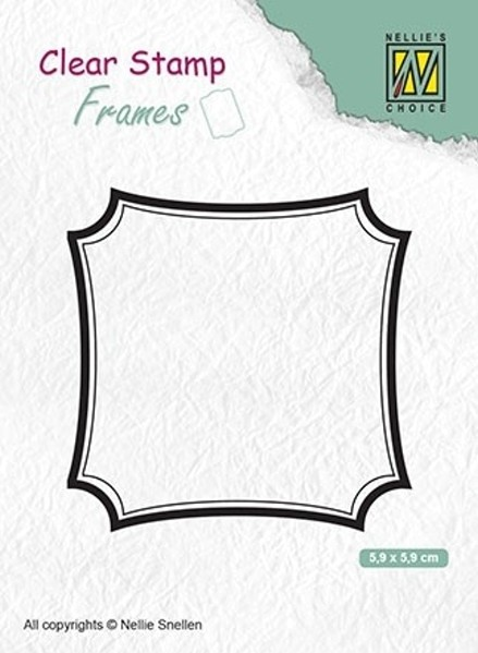 "Frames ""square"" / Rahmen ""Quadratisch"" - Stempel / Clearstamp"