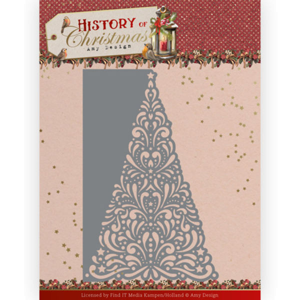 Lacy Christmas Tree - History of Christmas Collection von Amy Design (ADD10246)