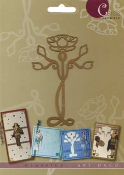 Blume - Prägeschablone / Embossing-Folder