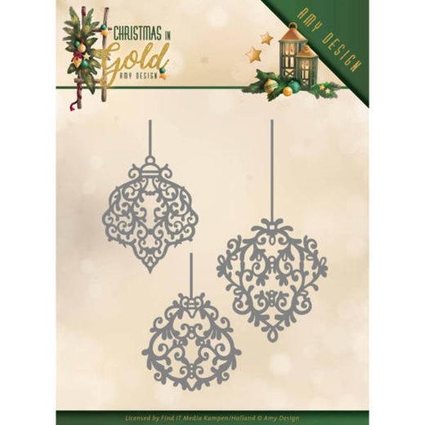 Golden Ornaments - Stanzschablone