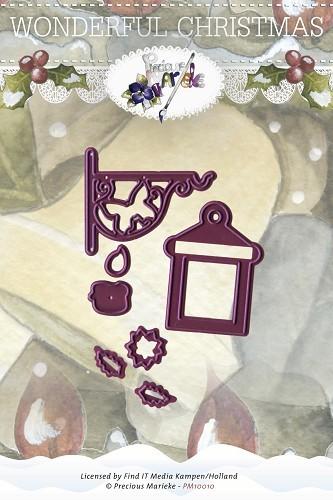 Candle / Laternen und Kerzen -Set - Stanz- Prägeschablone
