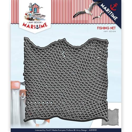 Fischernetz - Maritime Collection - Stanzschablone