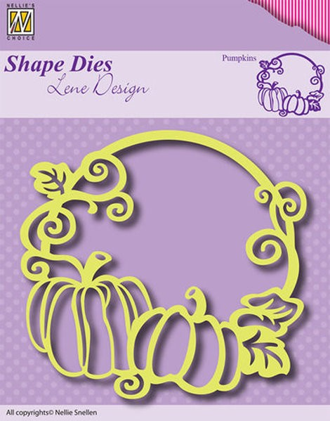 Pumpkins / Kürbisse - Shape Dies by Lene Design - Stanzschablone
