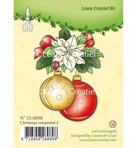 Weihnachtliches Motiv 2 - Stempel / Clearstamp von Leane Creative