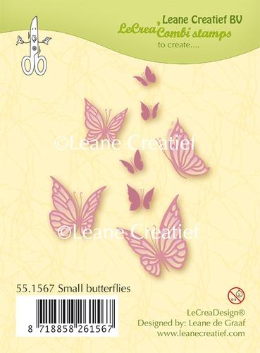 ClearStamp / Stempel - kleine Schmetterlinge