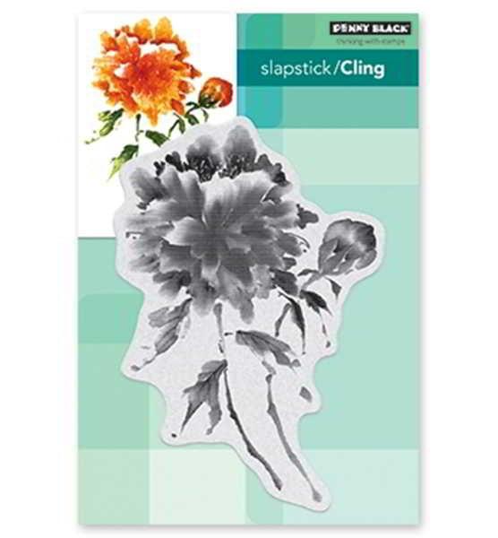 Becoming / Blumenstrauß - Stempel / Clearstamp
