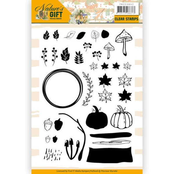 Nature's Gift - Clearstamp / Stempel