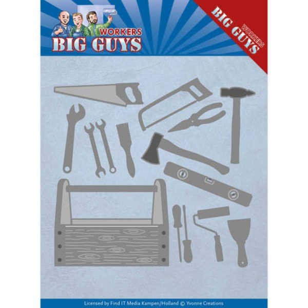 Handyman Tools - Workers Collection von Yvonne Creations (YCD10203)
