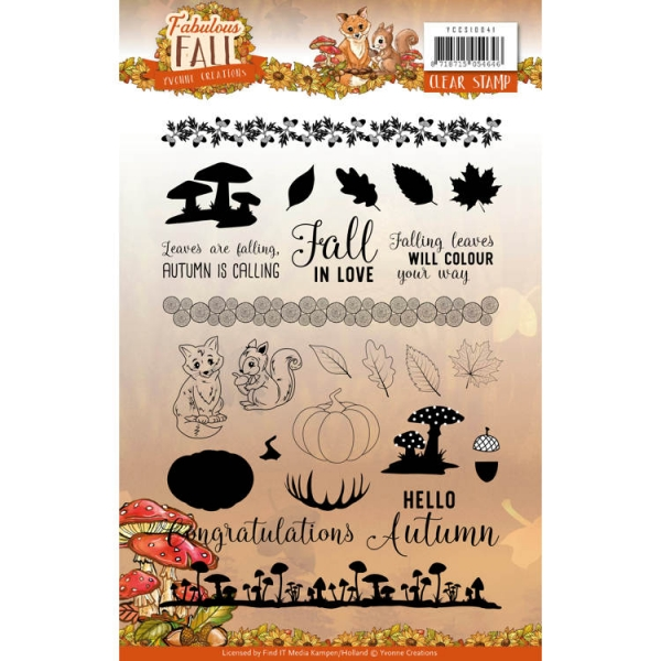 Fabulous Fall - Clearstamp / Stempel