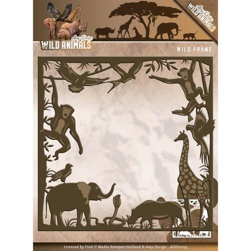 Wild Frame - Wild Animals - Stanzschablone