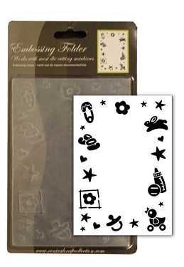 Babymotive - Prägeschablone / Embossing Folder
