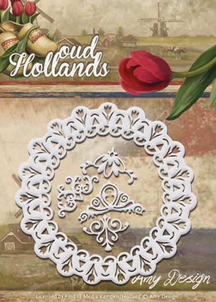 Tulpen Frame - Oud Holland - Stanzschablone
