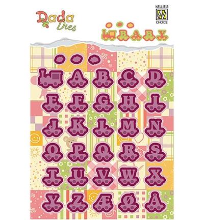 DDD005 - DADA Baby Dies - Alphabet train letters
