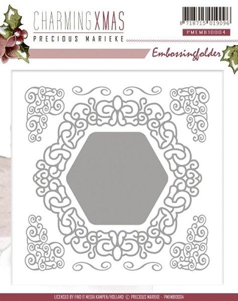 Charming Xmas - Prägeschablone / Embossing Folder