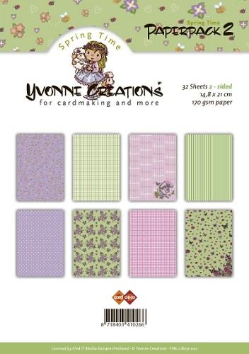 Design Motivpapier - Paperpack 2 (Frühling)