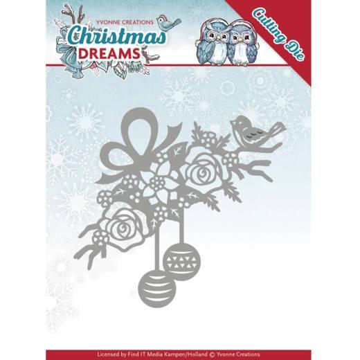 Bauble Ornament / Weihnachtsbaumkugeln - Stanzschablone