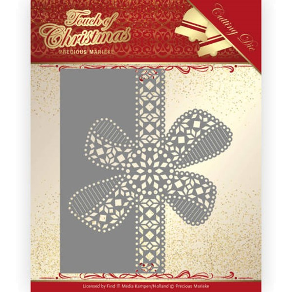 Christmas Bow Border - Touch of Christmas - Stanzschablone