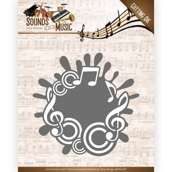 Music Label - Stanzschablone