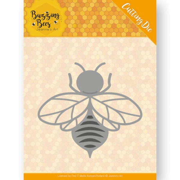 Honigbiene / Buzzing Bee- Stanzschablone