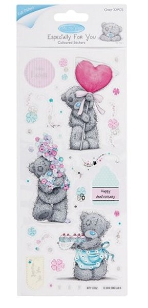"""""""Coloured Stickers"""" - Me To You (Floral Fantasy) - Sticker"""