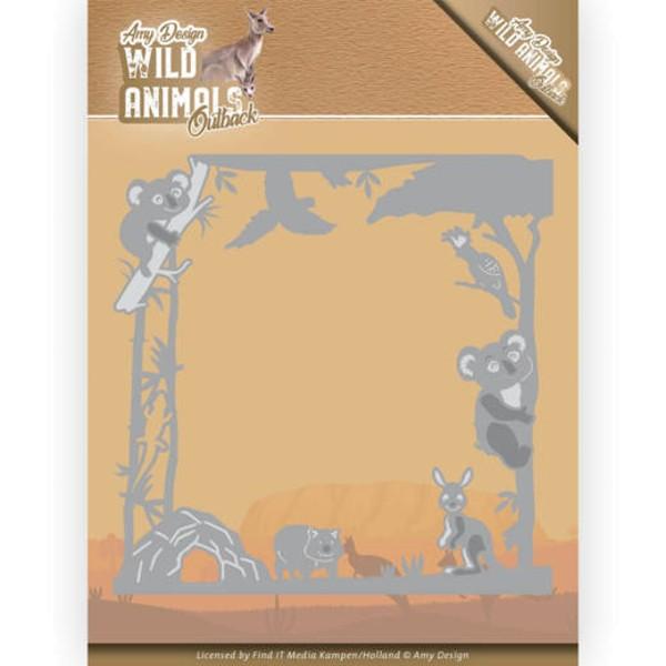 Koala Frame - Wild Animals Outback - Stanzschablone