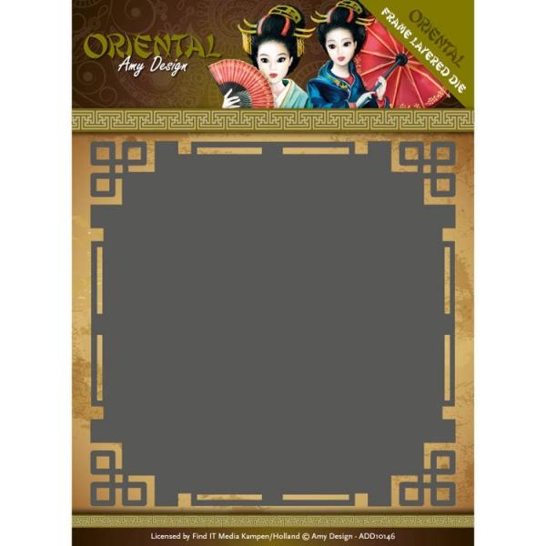 Frame Layered Dies - Oriental - Stanzschablone