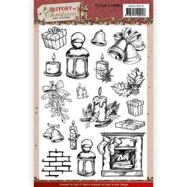History of Christmas - Clearstamp / Stempel von Amy Design (ADCS10075)